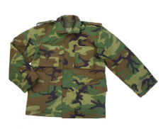 M-65 kabát woodland